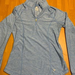 Old navy fitted quarter zip